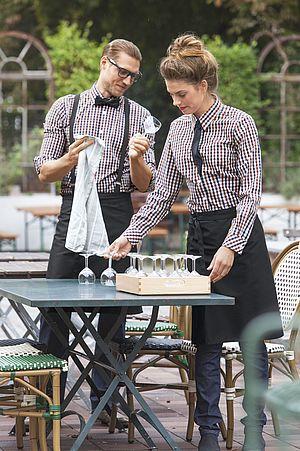 Elegant Berufsbekleidung In Der Gastronomie