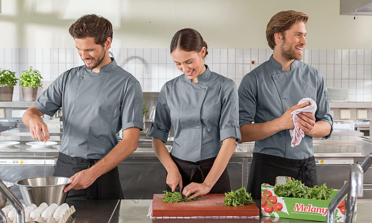 Berufsmode Gastronomie » wer trägt was?  Gastro Academy