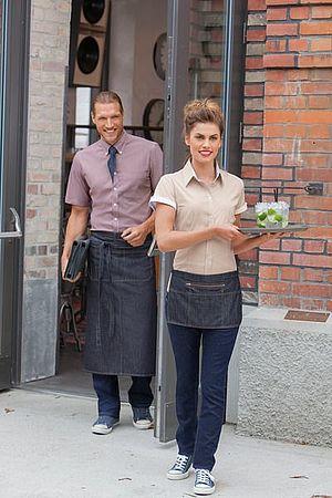 Uberlegen Zum Gesamteindruck Jeder Gastronomie Gehört Immer Auch Das Personal, Das  Mit Der Richtigen Berufskleidung Perfekt Zum Gastro Konzept Passt!